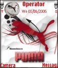 Puma Red Mobile Theme