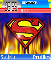 Superman Burning Mobile Theme