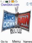 SMACKDOWN Vs RAW 2008 V2.0 Mobile Theme