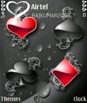 Poker Love Mobile Theme