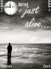 Just Alive Mobile Theme