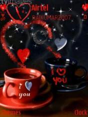 Love Coffee  Mobile Theme