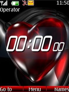 Digital Heart Mobile Theme