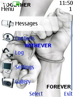 Forever Together Mobile Theme