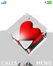 Red Heart Mobile Theme