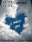 Miss You Mobile Theme