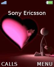 Heart Animated Mobile Theme