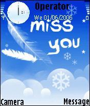 Miss You Too Mobile Theme