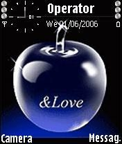 Apple Love Mobile Theme