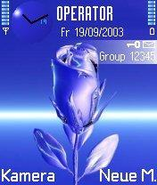 Blue Rose Mobile Theme
