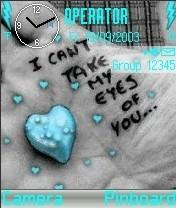 Cant Take My Eyes Mobile Theme