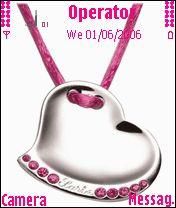 Pink Pendent Mobile Theme