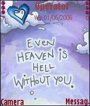 Heaven Is Hell Mobile Theme