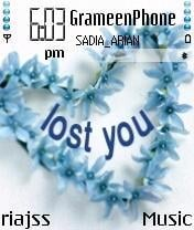 Lost You Mobile Theme