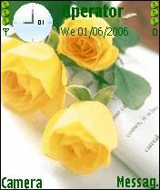 Roses Mobile Theme