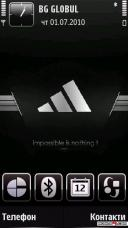 Addidas Mobile Theme