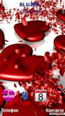 Heart Mobile Theme