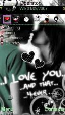 I Love You Forever Mobile Theme