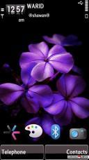 Nice Flower Mobile Theme