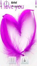 Purple Heart Mobile Theme