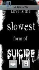 Suicide Mobile Theme