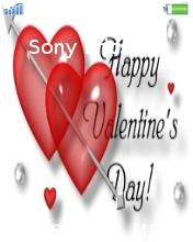 Happy Valentine's Day Mobile Theme