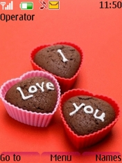 I Love You Chocolates Theme Mobile Theme
