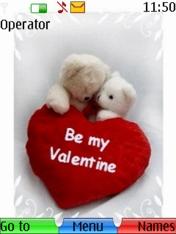Be My Valentine Nokia Theme Mobile Theme