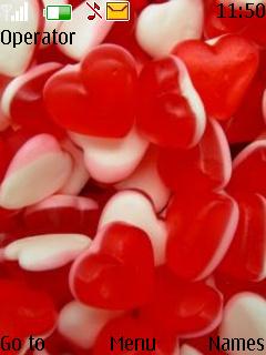 Heart Gummy Nokia Theme Mobile Theme