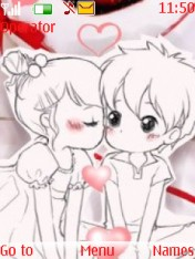 Cute Couple Love Nokia Theme Mobile Theme