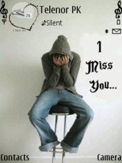 I Miss You Much Nokia Theme Mobile Theme