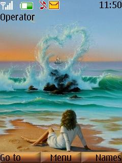Femel Love And Nature Theme Mobile Theme