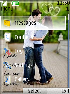 Love Couple Nokia Theme Mobile Theme