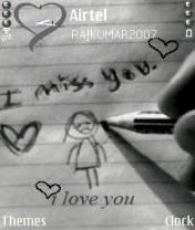 Cartoon Love Nokia Theme Mobile Theme