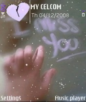 Miss You Nokia Theme Mobile Theme