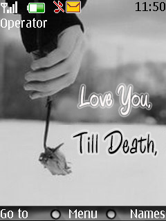Till Death Love Nokia Theme Mobile Theme