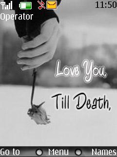 Till Death Love Nokia Theme Mobile Theme