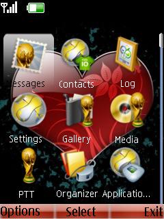 Heart Theme Mobile Theme