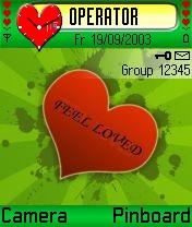 Feel Loved Theme Mobile Theme