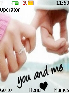 You And Me Theme Mobile Theme