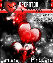Hearts Theme Mobile Theme