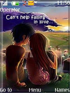 Canot Help Falling In Love Theme Mobile Theme