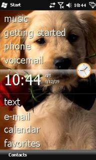 Puppy Rose Theme Mobile Theme