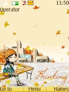 Thinking Of You Theme Mobile Theme