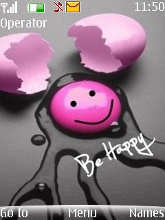 Be Happy Nokia Theme Mobile Theme