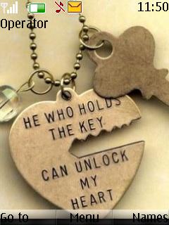 Unlock My Heart Theme Mobile Theme