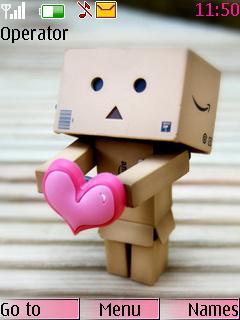 A Heart For You Nokia Theme Mobile Theme