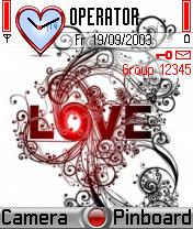 Love Theme Mobile Theme