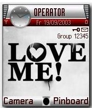 Loves Me Theme Mobile Theme