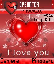 Love You Theme Mobile Theme